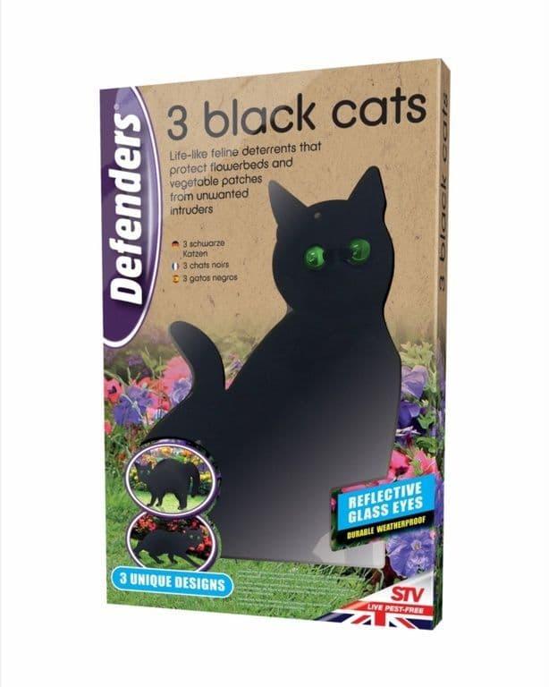 Defenders Three Black Cats